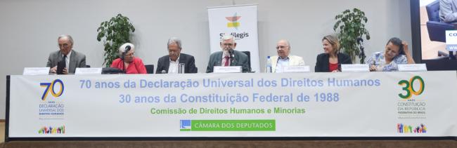 Audiência pública celebra 70 anos da Declaração de Direitos Humanos