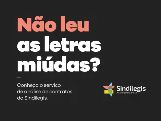Sindilegis oferece serviço para analisar contratos de empréstimos consignados