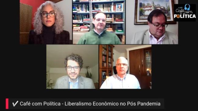 """""""Não há no Brasil um liberalismo econômico"""", analisa Samuel Pessôa no 7º Café com Política"""