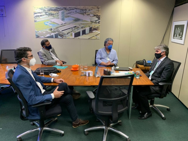 Sindilegis discute regulamentação do teletrabalho com Diretoria-Geral da Câmara e do Senado