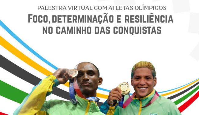 Em celebração ao Mês do Servidor, Casas promovem palestra com atletas olímpicos Ana Marcela e Alison dos Santos